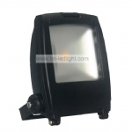 Black LED floodlight