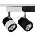 Mini LED track light for art gallery modern 5W 7W White Black