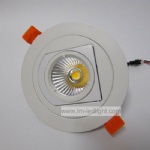 Rotation COB LED downlight 5W 7W 10W